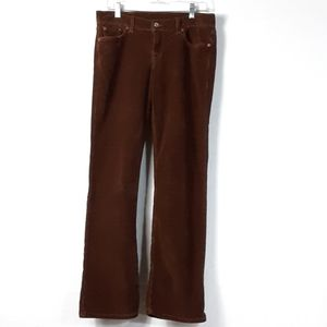 Luck Brand corduory Jean's size 8